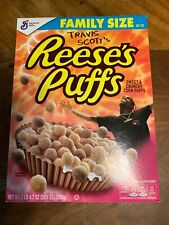 Travis Scott Limited Edition Reeces Puff Cereal Cactus Jack  *Family Size*