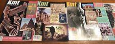 Ancient Egypt Magazine KMT 2007 Set Vol 18 Complete Your Collection