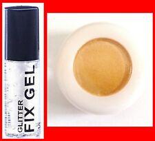 FINE ORANGE PRO GLITTER DUST POWDER EYE SHADOW FACE BODY NAIL+CLEAR FIX GEL(119*