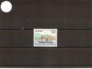 "Monaco 1960 SG D703 1v MM ""Charles III""-Paddle Steamer 1866-Postage Due"