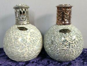 Electric Pearl Crackle Fragrance Oil Melt Burner lamps Handcrafted Aroma Warmer