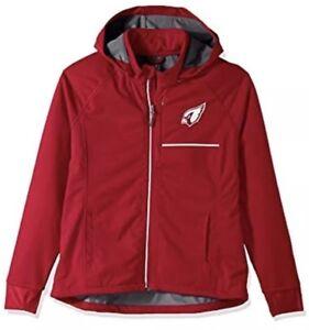 G-III Sport Women's Arizona Cardinals Cut Back Soft Shell Jacket Coat Small S