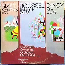 Max Rudolf - Bizet / Roussel / D'Indy LP Mint- DL 710,162 Decca Gold Stereo
