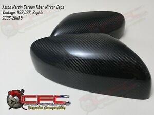 Aston Martin Carbon Fiber Mirror Caps 2006-2010.5 Vantage DBS DB9 Rapide