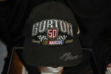 Jeff Burton 50th Anniversary Limited Edition Embroidered Snapback Hat Cap