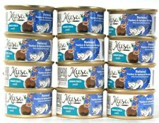 12 Cans Muse By Purina 3 Oz Natural Turkey & Spinach Recipe Grain Free Pate