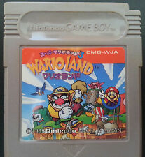 Nintendo Game Boy. Super Mario Land 3 Wario Land. DMG-WJA