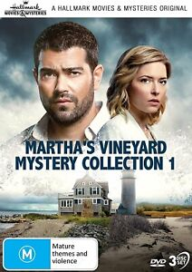 MARTHA'S VINEYARD MYSTERY Collection 1 DVD Hallmark Marthas (Region Free)