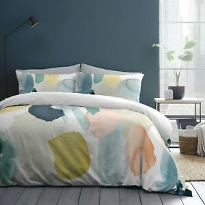 "Appletree Style ""Solice"" Abstract 100% Cotton Duvet Cover Bedding Set Multi"
