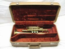 Early Vintage Cadet Cornet Marching Student Brass Musical Instrument