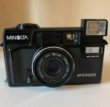 Minolta Hi-Matic AF2 M 35mm Point & Shoot Compact Film Camera