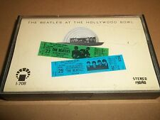 """THE BEATLES """" AT THE HOLLYWOOD BOWL """" REISSUED CASSETTE ALBUM """"I"""" PRODUCTION"""