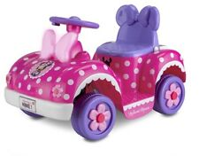 Disney's Minnie Mouse Toddler Quad 6-Volt Ride-On Toy Kid Trax Outdoor Girls New