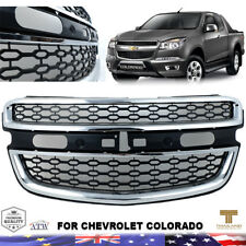 Chrome Black Front Grill Grille Backing For 12+ Chevrolet Chevy Colorado
