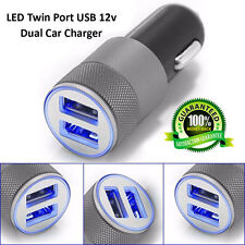 DUAL-USB GRIFFIN TWIN 2 PORT 12V UNIVERSAL CAR LIGHTER SOCKET CHARGER ADAPTER