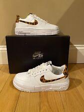 NEW Women's Nike Air Force 1 Pixel Leopard Size 6