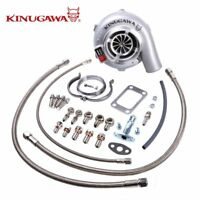 "Kinugawa Ball Bearing Turbo 4"" GTX3076R AR.82 T3 V-Band Fits NISSAN RB20&RB25DET"