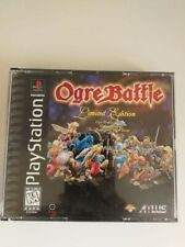 Ogre Battle: Limited Edition (Sony PlayStation 1, 1997)