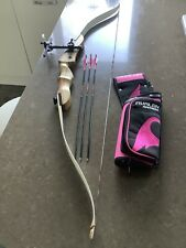 SF Optimo Bow, Arrows, Sight and Quiver Left Handed