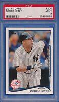 2014 Topps #200 Derek Jeter New York Yankees HOF PSA 9 MINT
