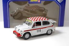 1:18 Revell Fiat Abarth 1000 TC white/red #999 NEW bei PREMIUM-MODELCARS