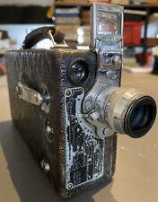 Vintage 1930s Eastman Cine Kodak Model K 8mm Clockwork (Wind-Up) Camera WORKING