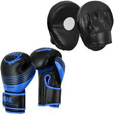 Roar 14oz Boxing Gloves Muay Thai Punch Bag Sparring & Focus Pad Target Mitt Ufc