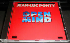 JEAN-LUC PONTY cd OPEN MIND rare French Jazz Violin CHICK COREA george benson