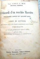 1901 LIBRO DI LETTURA PER GIOVANI OPERAI SOCIALISTI DI CARLO ANTONIO MOR
