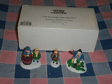 Dept 56 Heritage Village 56553 The Old Man and the Sea Set of 3 Box
