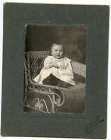 Vintage Photo-Baby Sitting-Valley City North Dakota-JA Tweit Photographer