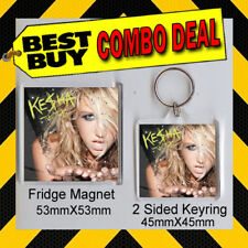 KE$HA -KESHA- TIK TOK -KEYRING & FRIDGE MAGNET - CD COVER PRODUCT