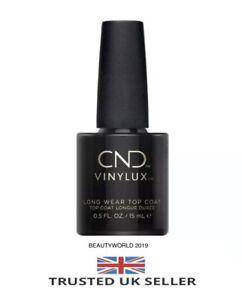 CND Vinylux Long Wear TOP COAT 15ml  ~ 100 GENUINE ~