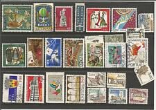 Portugal 1960s 1970s Da Gama Christmas Europa Small Collection / Lot Used Stamps