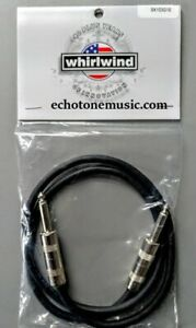 Whirlwind SK103 3ft speaker Cable Guitar amp Head to Cabinet 16AWG  USA