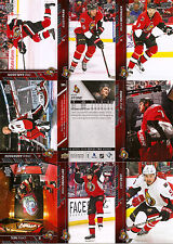 2015-16 UD Upper Deck Ottawa Senators Regular + Canvas Team Set (20)