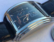 New Roberto Cavali r7251955035  Chronograph Black Dial Watch