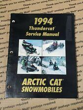 Arctic Cat Snowmobile 1994 Thundercat Service Manual 2255-010