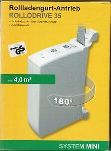 Schellenberg - Elektrischer Gurtwickler RolloDrive 35