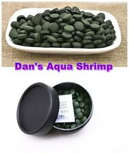 Spirulina Tablets Algae Veggie Wafer Shrimp Food Cyrstal Cherry Plecos Catfish
