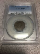 1914-D PCGS XF45 1C Lincoln Cent Wheat Ears Penny