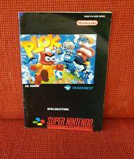 Plok - Spielanleitung / Bedienungsanleitung / Booklet - SNES / Super Nintendo