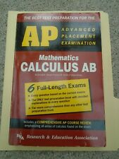 Ap Test Preparation in Calculus Ab,1992, 6 Full-Length Exams, Used, Very Good