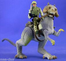 Star Wars Potf Deluxe Suelto Muy Raro Luke Skywalker & Tauntaun como nuevo. C-10+