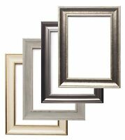 Shabby Chic Photo frame Picture Poster frames Gunmetal, Natural  A1 A2 A3 A4
