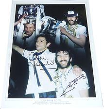 Ossie Ardiles & Ricky Villa SIGNED AUTOGRAPH Tottenham Spurs AFTAL UACC