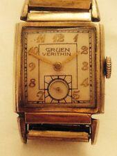 Vintage Gruen Veri Thin Mens Watch