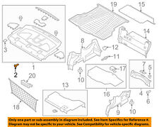 FORD OEM Interior-Rear-Package Tray Clip W716365SS35B