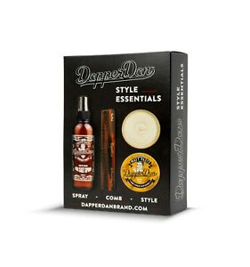 Dapper Dan Matte Paste Style Essentials Hair Styling Gift Set for Men