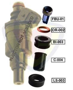 Fuel Injector Repair Kit to suit Ford Telstar AT,TX5 TURBO (F2T)  4Cyl 2.2L